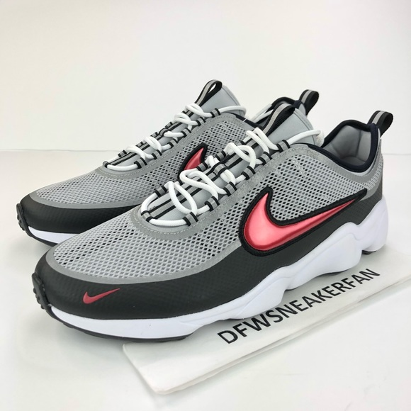 cheap for discount look for outlet on sale Nike Air Zoom Spiridon Metallic Silver Mens Sz 13 NWT